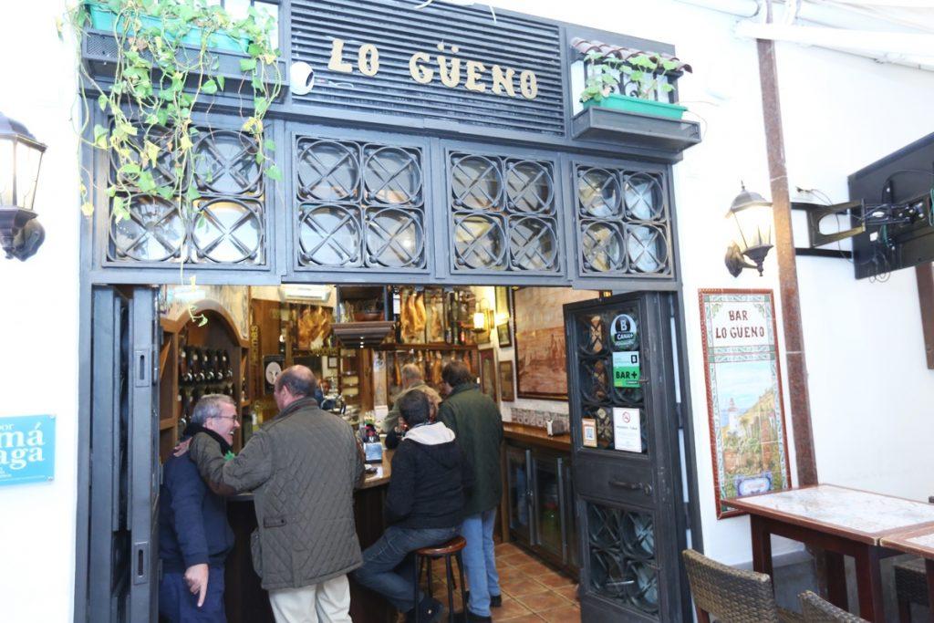 Lo Güeno en Málaga y los Hornos Josper