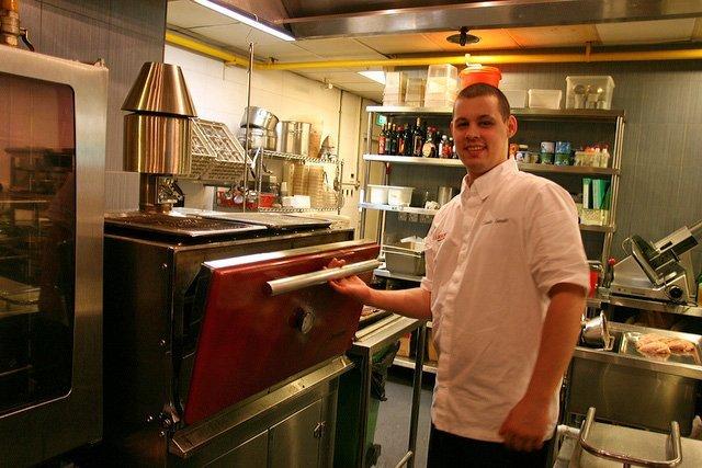 Claudio Sandri, Brasserie Wolf and Josper grill