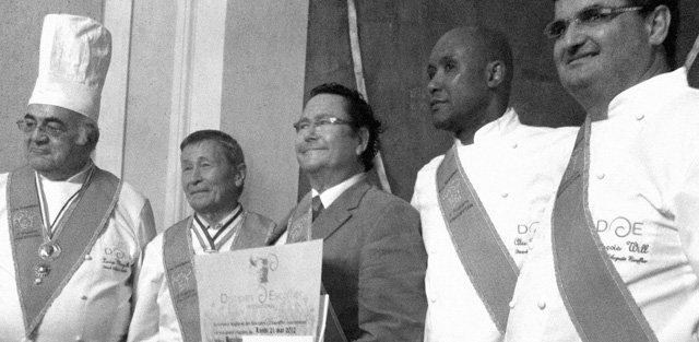 Pere Juli premio Discípulos de Escoffier