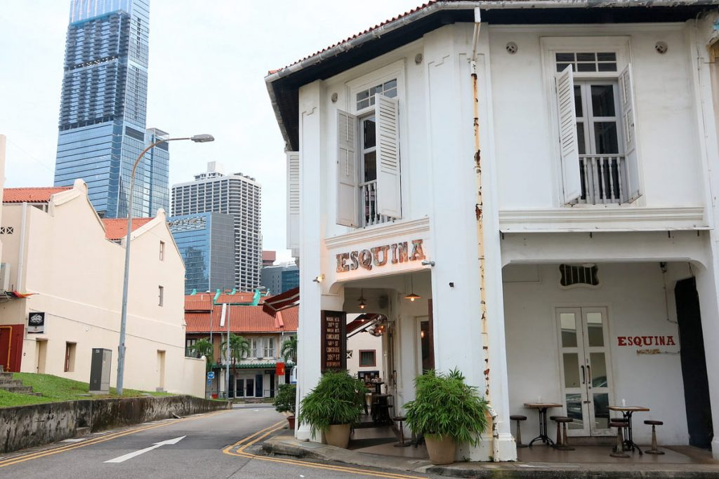 Josper, en Esquina Tapas Bar de Singapur