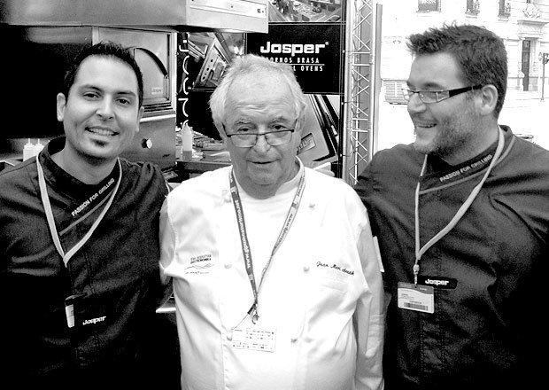 Arzak y Josper en Gastronomika