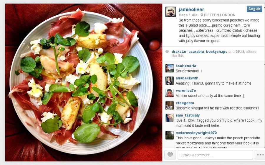 La receta al horno Josper de Jamie Olivet