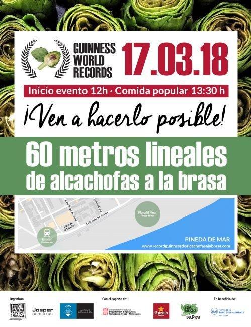 Guinness de alcachofas a la brasa en una hora