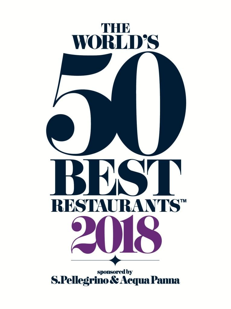 Logotipo del The World's 50 Best 2018
