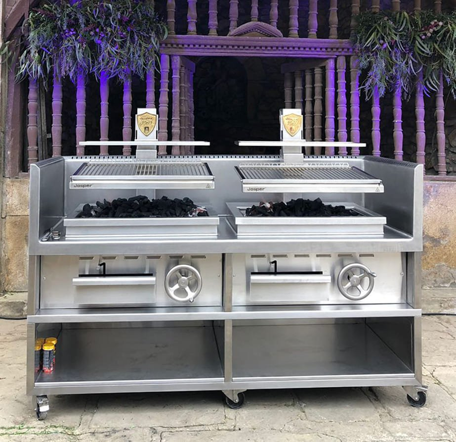 Parrilla vasca Josper en The 50's Best 2018