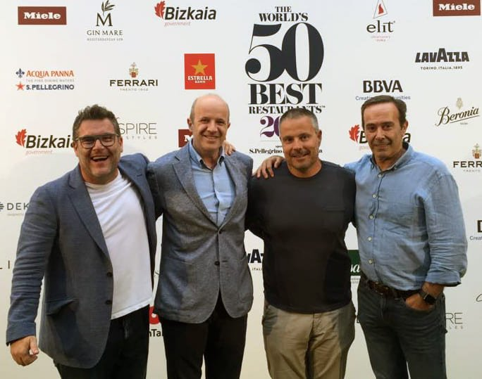Josper en el 50 World Best Restaurants 2018