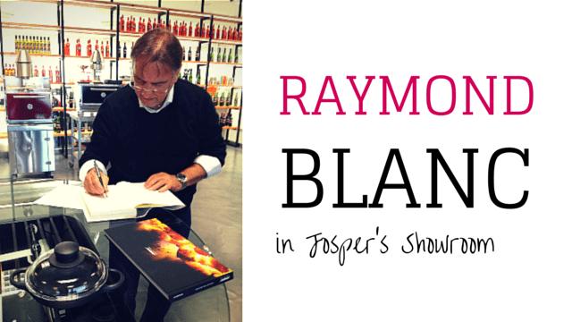 Raymond Blanc en la Josper Grilling Experience