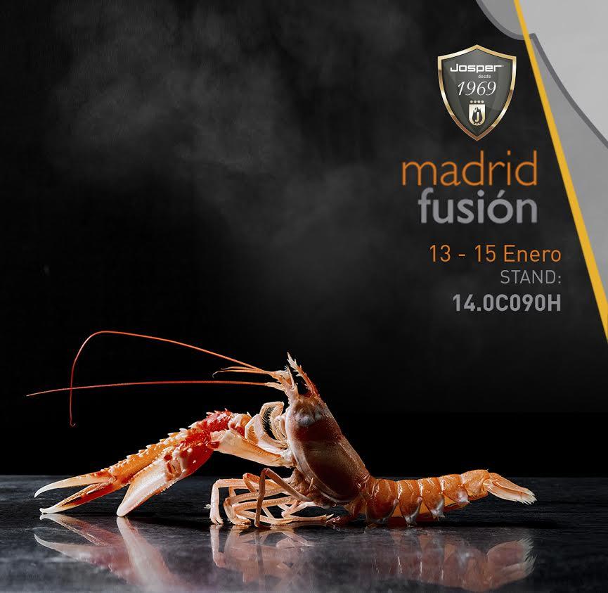 Josper en la 18ª edición de Madrid Fusión, 2020