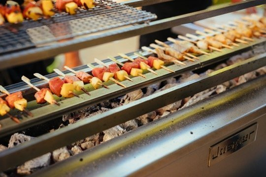 The open grill, with Josper